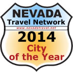 Nevada Travel Network 2014 City of the year