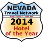 Nevada Travel Network 2014 Hotel of the Year