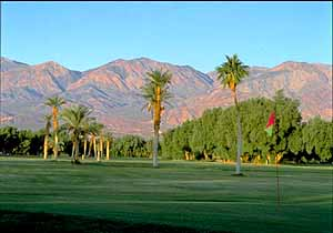 Golf Course at Furnace Creek Ranch, Death Valley