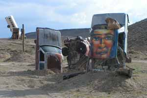 The International Car Forest of the Last Church, Goldfield Nevada
