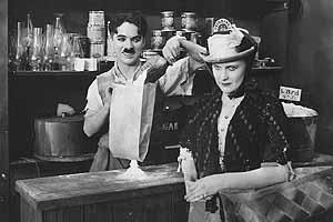 Charlie and Edna in Sunnyside,1919