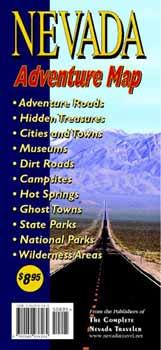 Nevada Adventure Map