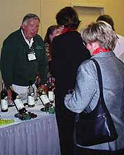 Jack Sanders and his team poured their famous Pahrump Valley wines