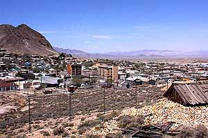 Tonopah was Nevada's first 20th century city, hugely influential in Nevada's history from 1900 until World War II.