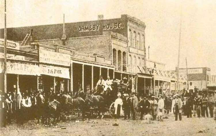 Ormsby House, Carson City Nevada, 1863