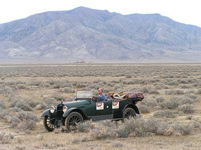 1918 Chevrolet V-8 in the Great Race