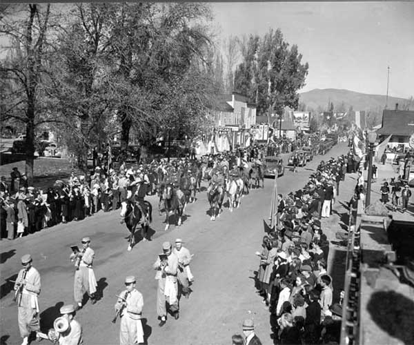 Admission Day Parade, Carson City Nevada