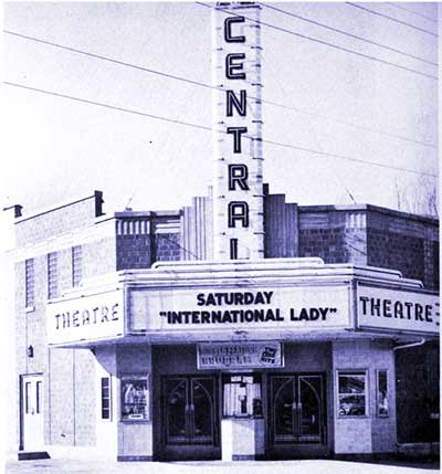 Ely's Central Theater in 1941