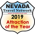 2019 Nevada Attraction of the Year logo