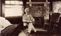Mark Twain Stays Home