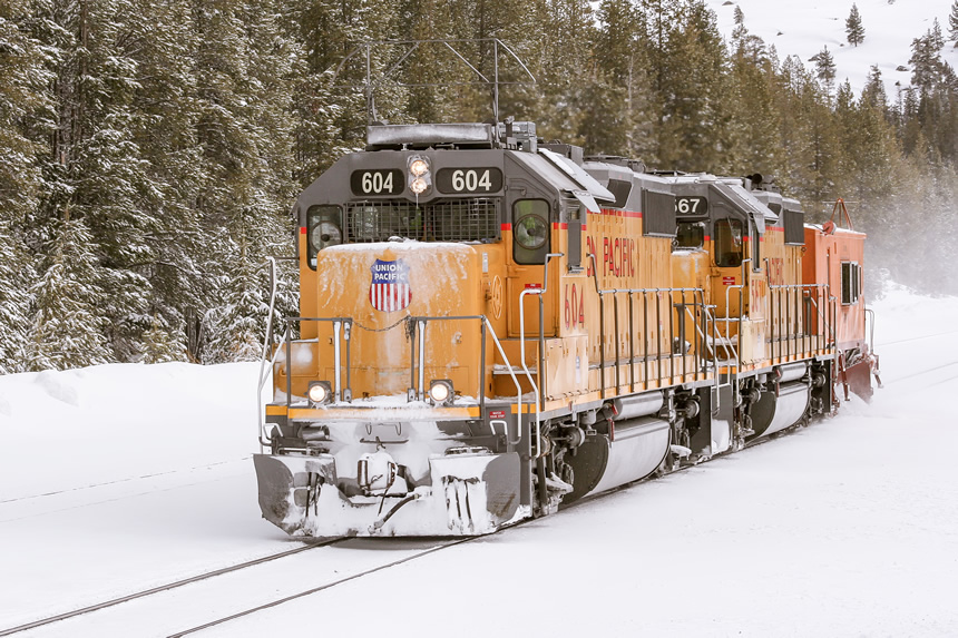 Union Pacific flanger