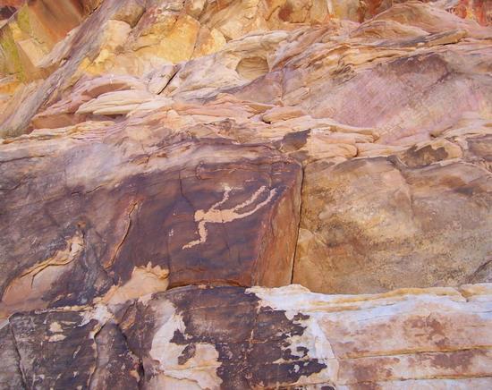 Iconic Falling Man, Mesquite Nevada