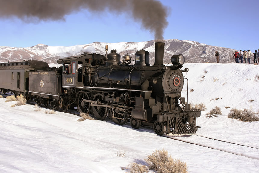 Nevada Northern Railway Locomotive No. 40