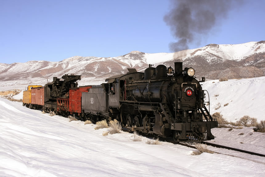 Nevada Northern Railway Locomotive No. 93