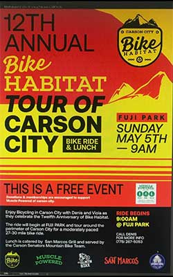 2019 Bike Habitat Carson City Nevada