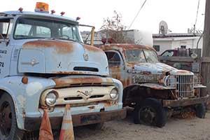 street scene, Gerlach Nevada