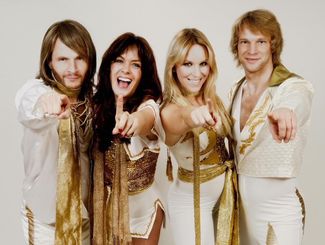 ABBA impersonators