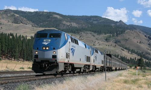 Amtrack Washoe Zephyr near Verdi