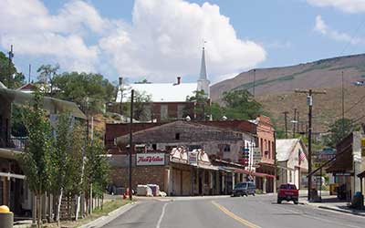 Main Street Austin Nevada