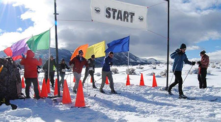 Birkenbeiner XC Race at Ely's Fire & Ice Festival
