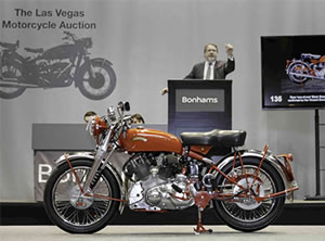 Bonham's Las Vegas Motorcycle Auction