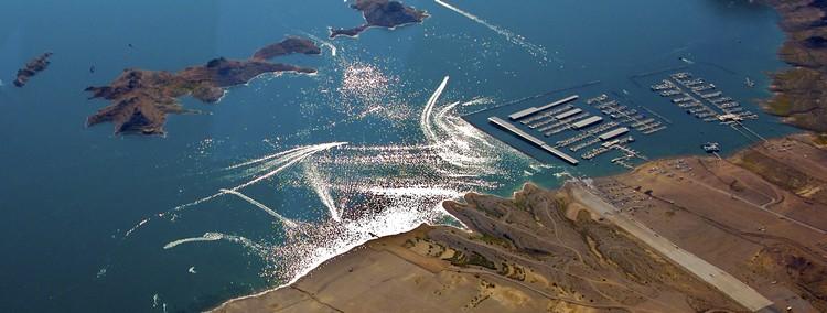 Boulder Basin Las Vegas Boat Harbor, Lake Mead