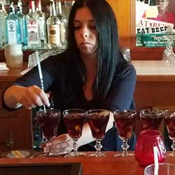 Brandy Ferris at the Heyday Inn, Wellington Nevada