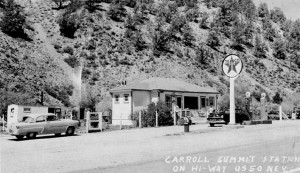 Carroll Summit Station in the 1950s