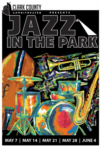 Clark County Jazz in the Park poster