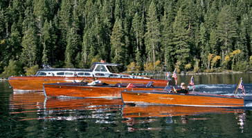 Concours d' Elegance Wooden Boat Show