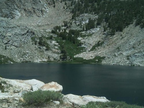 Liberty Lake -- one of over two dozen lakes in the Ruby Mountains of Elko County.