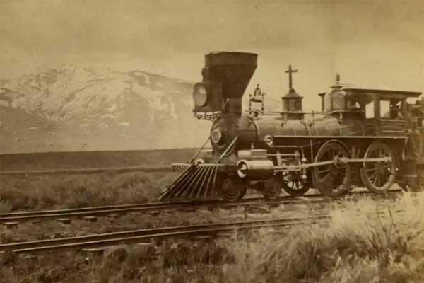 UPRR at Deeth, 1869