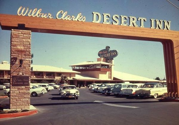 """Mob built and owned hotel-casinos on the Strip typically had nominal owners without criminal records as """"front men."""" Thus, the Desert Inn was """"Wilbur Clark's,"""" rather than """"retired"""" Ohio mobster """"Mo"""" Dalitz's."""