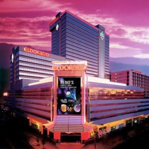 Eldorado Hotel Reno -exterior night