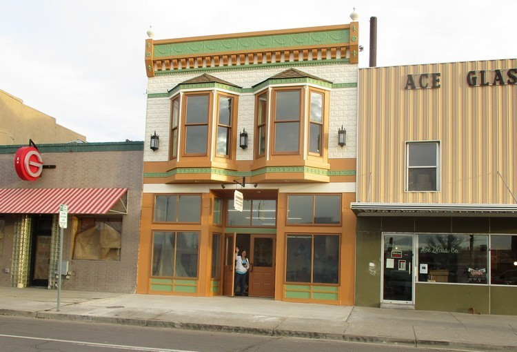 The Cowboy Arts and Gear Museum's recently restored building at 542 Commercial Street was built in 1907 by master craftsman G.S. Garcia to house his saddle, harness and tack shop.