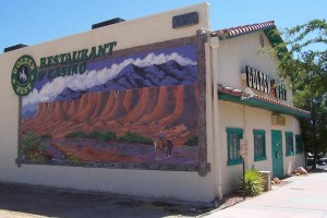 Mural on Golden West Casino Restaurant in Mesquite, NV