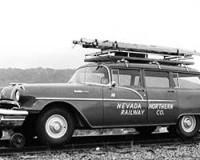 1956 Pontiac Chieftain Hy-Rail, modified by Fairmont Motor Co.