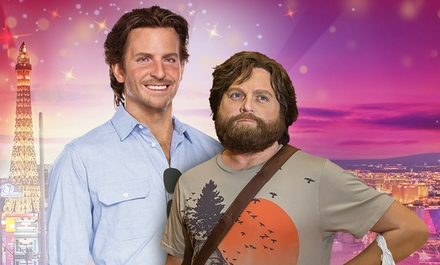 "Wax figures of ""Phil"" and ""Alan"" at Madame Tussauds ""Hangover"" Experience"