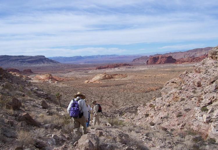 Hiking Gold Butte