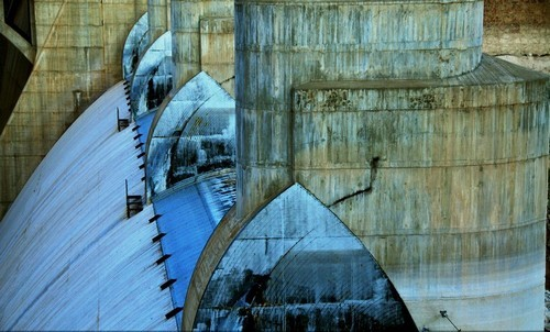 Arizona Spillway, Hoover Dam. (Photo by GOYA photography, Boulder City)