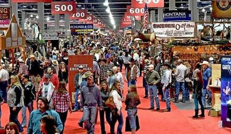 Cowboy Christmas at the Las Vegas Convention Center. Saturday, December 5, 2015. CREDIT: Glenn Pinkerton/Las Vegas News Bureau