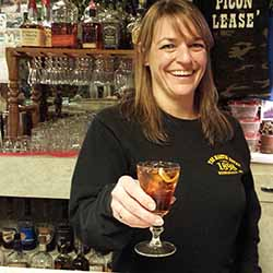 Lori at the Martin Hotel, Winnemucca Nevada
