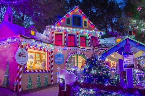 The Elves' Cookie Factory in the Magical Forest at Opportunity Village