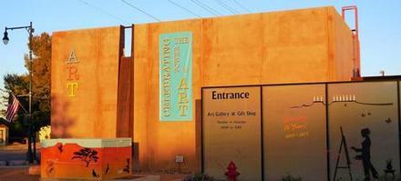 Mesquite Art Gallery-side-sun
