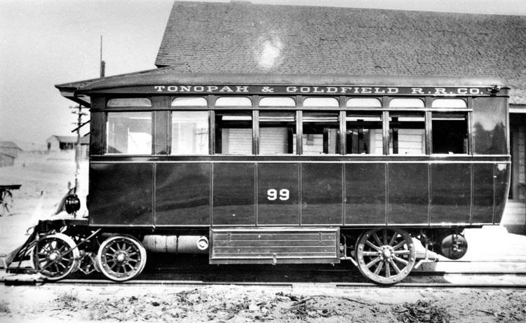 Motor Cars III -Tonopah & Goldfield 1