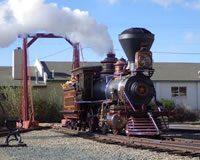 Locomotive Glenbrook at Nevada State Railroad Museum, Carson City