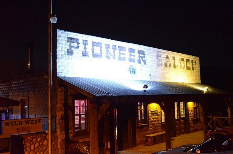 The Pioneer Saloon in Goodsprings