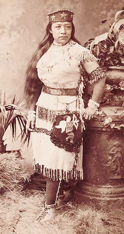 Sarah Winnemucca Hopkins, ca 1885
