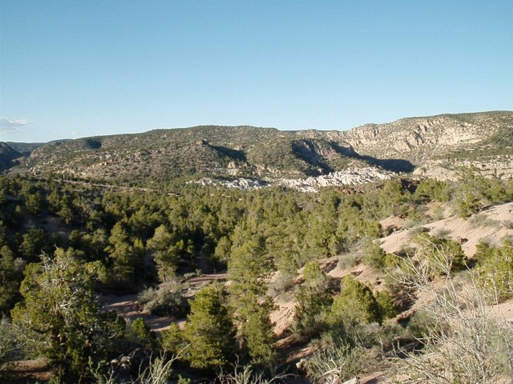 The beautiful scenery along a section of the Gravel Grinder's course (Nevada State Parks photo)