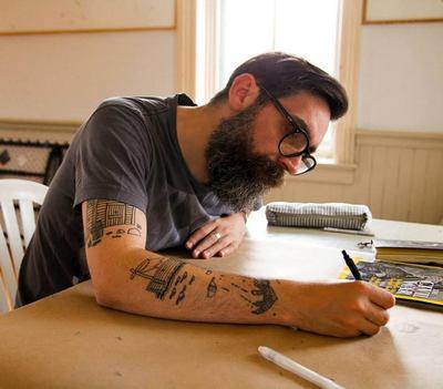 Artist Stewart Easton